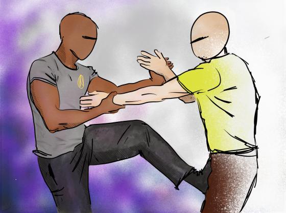Wing Chun Uppsala Sparring
